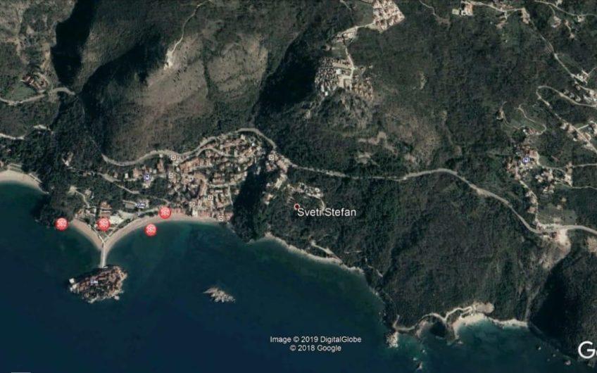 Zemljište za izgradnju vile / turističkog kompleksa na Budvanskoj rivijeri. Pogled na more!