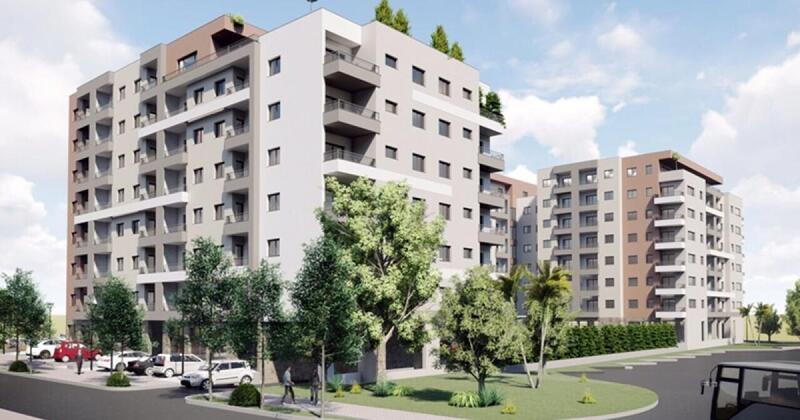 Budva. Jednosoban stan u novom kompleksu u blizini autobusne stanice. 1.500 eura / m2