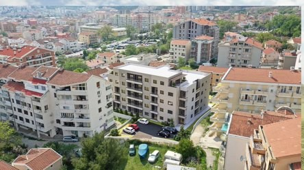 Hitna prodaja stana u novoj zgradi u blizini Kuzhina, Budva. 1,377 eura / m2